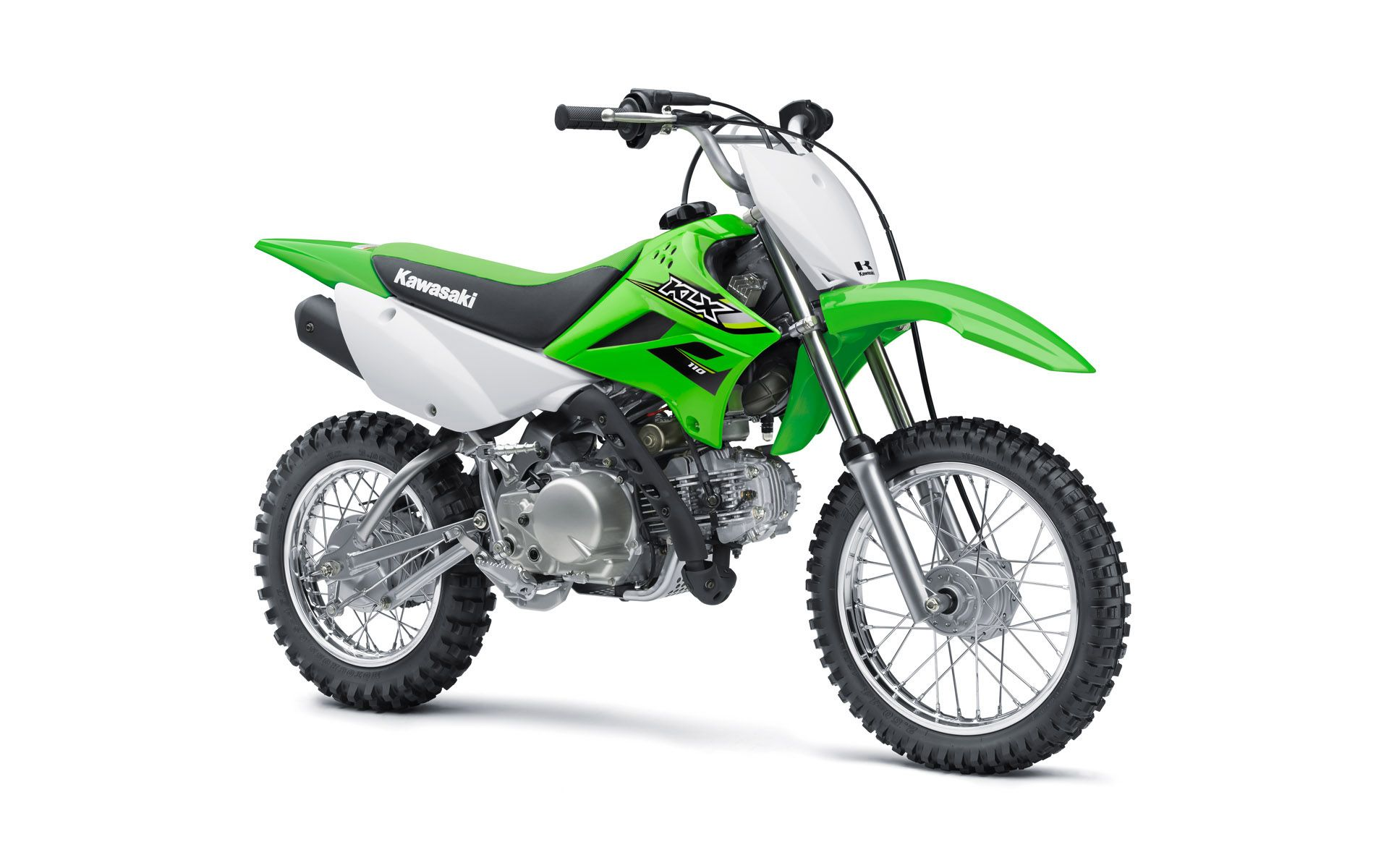 enduro-kawasaki-klx�aO110--lime-green