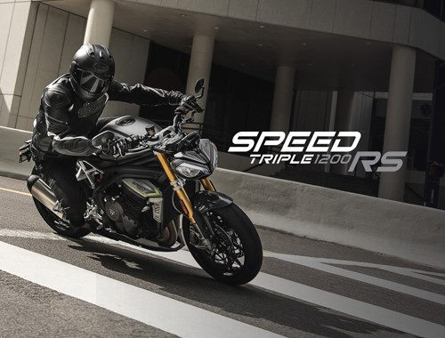 Triumph Presenta la nueva Speed Triple 1200 RS